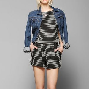 Urban Outfitters BDG Stripe Romper